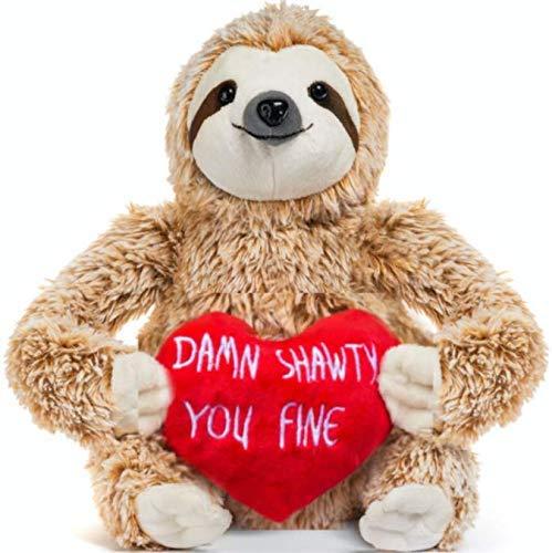 valentine's day sloth