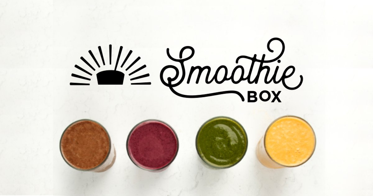 best smoothie delivery smoothiebox