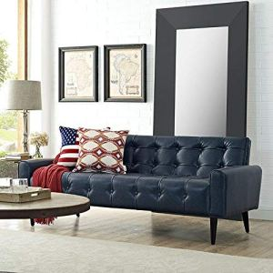 best leather sofas modway