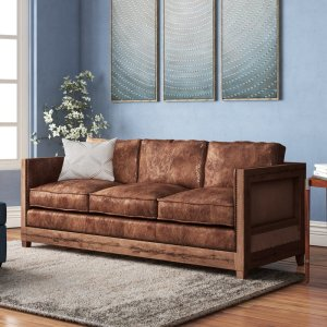 best leather sofas union rustic sherly