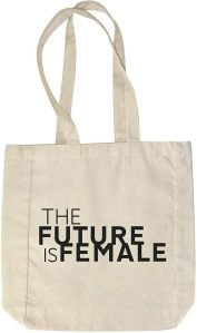 future is female tote, gifts for her on amazon