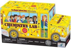 The Magic School Bus Chemistry Lab science kit