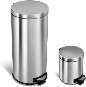 best kitchen trash cans nine stars combo