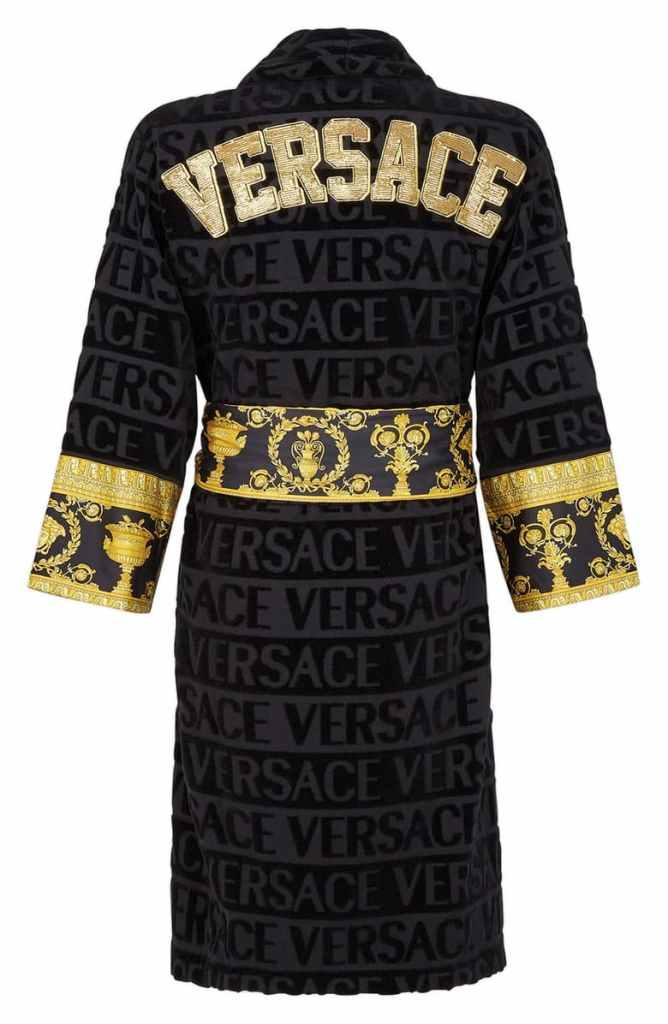 versace baroque bathrobe