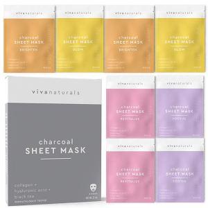 Viva Naturals Sheet Mask Set