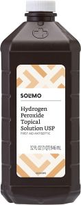 how to get rid of earwax hydrogen peroxide