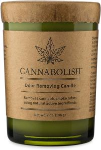 how to get rid of weed smell cannbolish candle