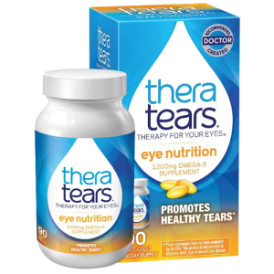 TheraTears Omega 3 Supplement for Eye Nutrition