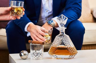 The Best Whiskey Decanters for Elegantly Displaying Your Best Spirits