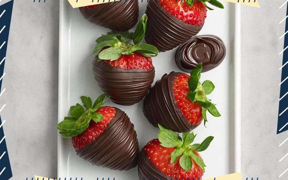 Godiva Dark Chocolate Covered Strawberries