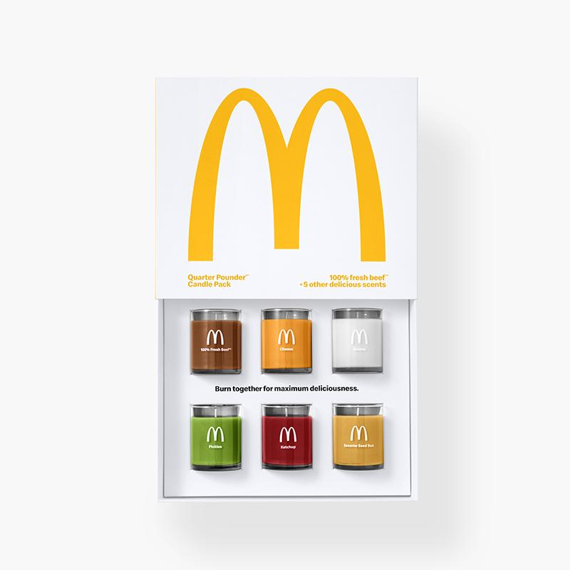 mcdonalds scented candles