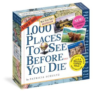 1000 places to see before you die desk calendar