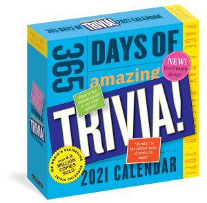 365 days of amazing trivia calendar