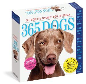 365 dogs page a day desk calendar