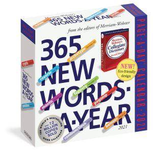 365 new words a year desk calendar