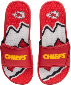 Kansas City Chiefs slide flip flops