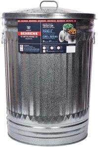 behrens galvanized steel trash can