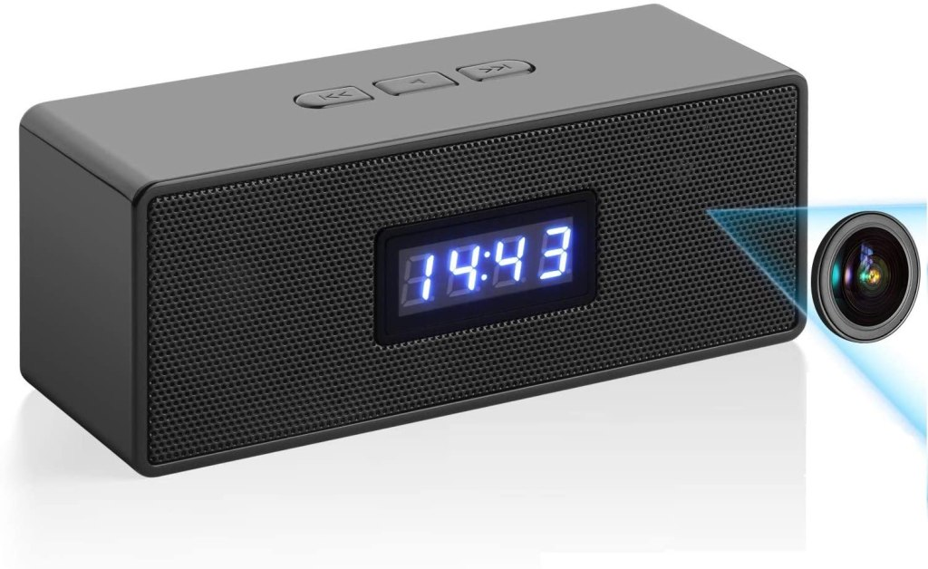 Bindouf Security Clock and Camera