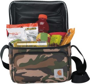 carhartt deluxe dual compartment insulated lunch cooler