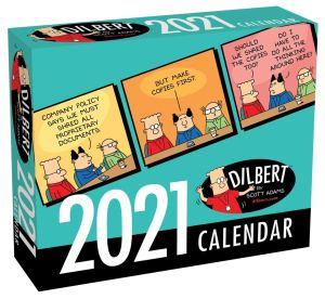 Dilbert 2021 Day-to-Day Desk Calendar