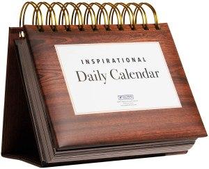 Motivational & Inspirational Perpetual Desk Calendar