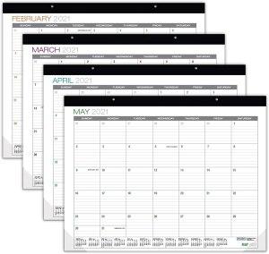 global printed products 2021 desk calendar