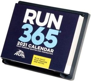 Gone for a Run 2021 Daily Desk Calendar