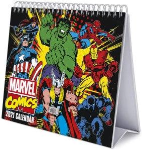 Grupo Erik Marvel Comics 2021 Desk Calendar