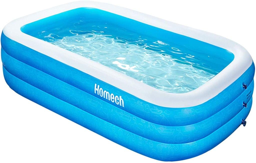 Homech Inflatable Kiddie Pool