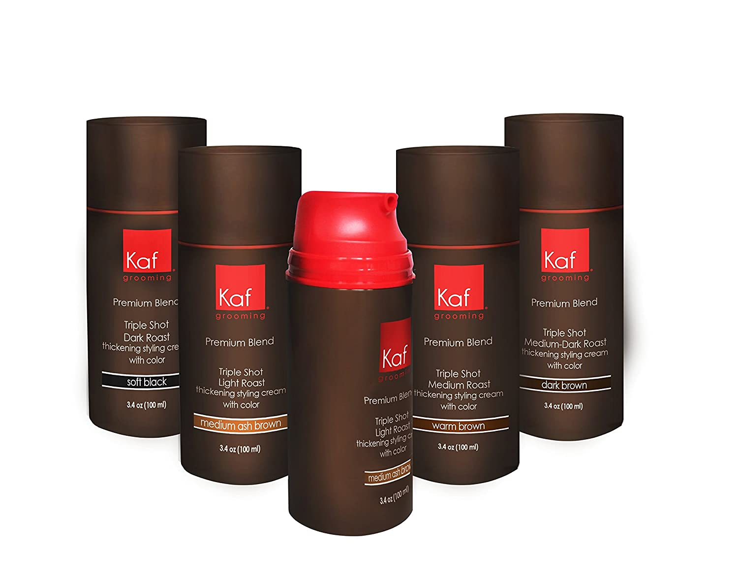 kaf grooming men's hair cream with color