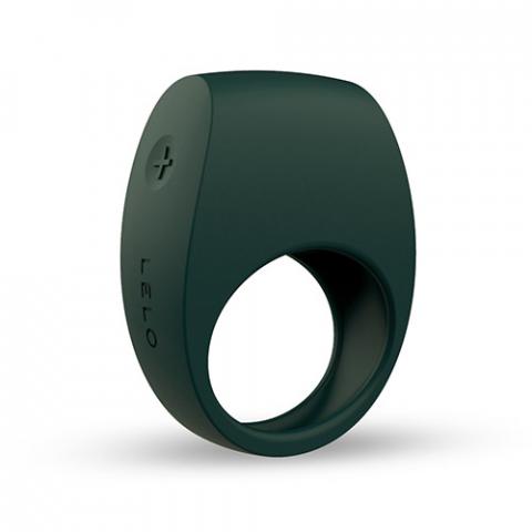 Lelo TOR 2 green vibrating penis ring