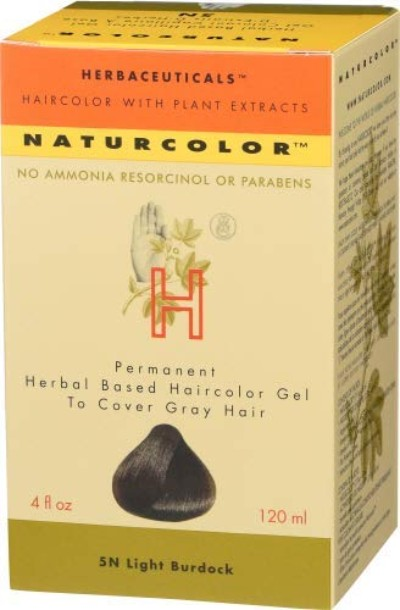 Naturcolor hair dye