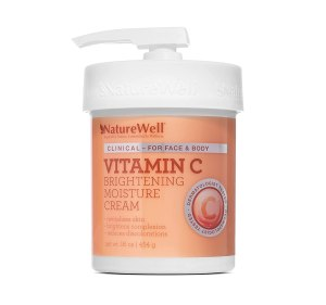 NatureWell vitamin c cream, how to get rid of a blackeye