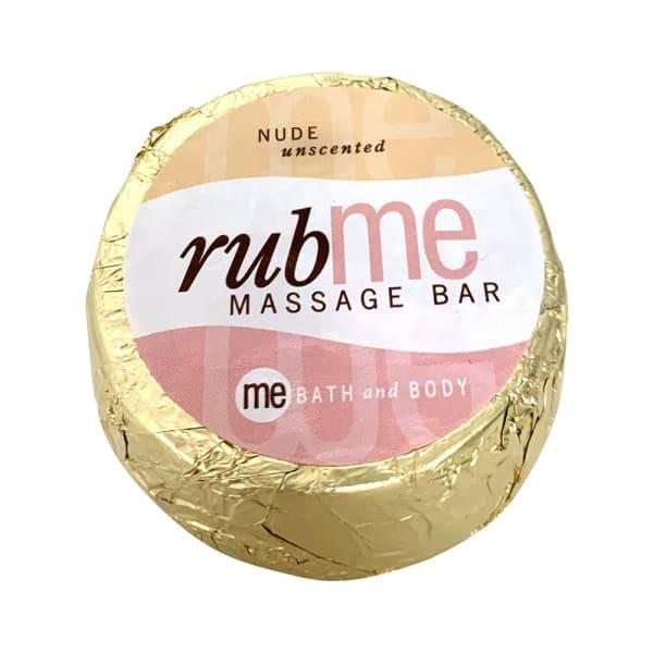 Rub Me Massage Bar, unscented