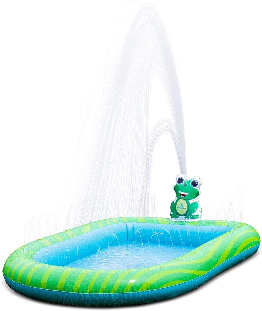 Splashin'kids 3 in 1 Inflatable Sprinkler Pool, best kiddie pool