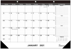 desk calendars towwi monthly desk pad