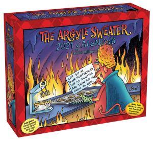 the argyle sweater 2021 desk calendar