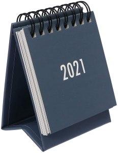 desk calendars - Toyvian 2021 Mini Calendar