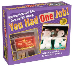 You Had One Job! Day-to-Day 2021 Desk Calendar