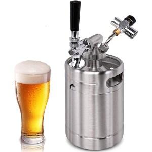 NutriChef Pressurized Beer Mini Keg System, best mini keg overall