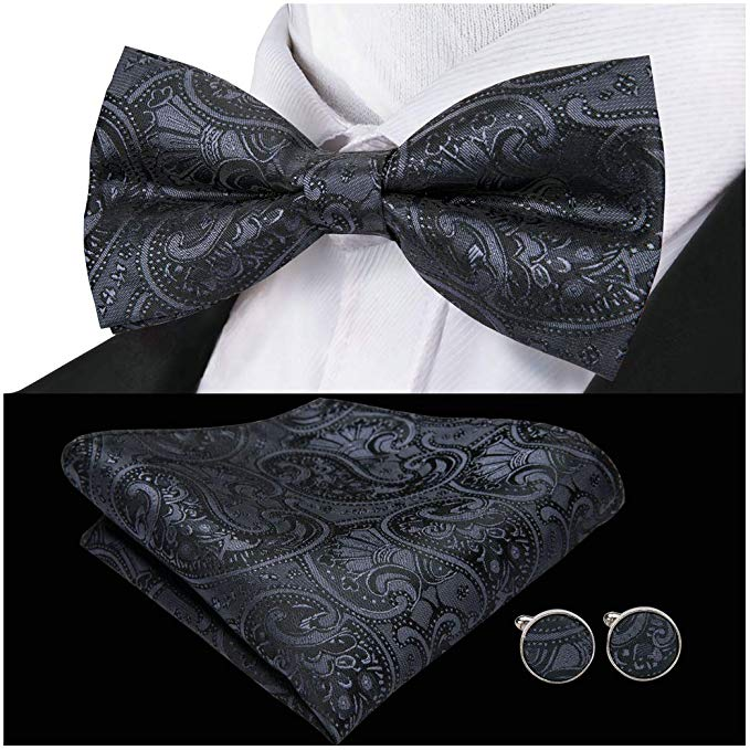 Barry Wang Bow Tie Set