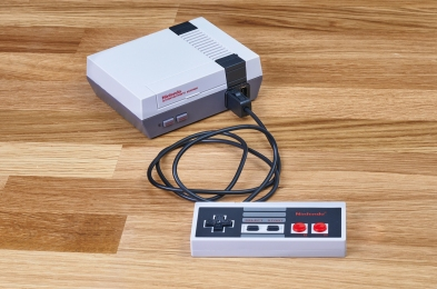retro gaming consoles feature
