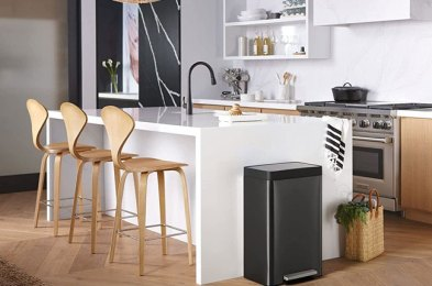 replace your smelly bin with one of these super sleek kitchen trash cans