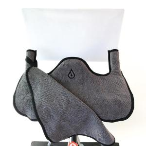 Black spintowel 2.0 from Drip Accessories