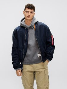 alpha industries bomber jacket, birthday gifts for him