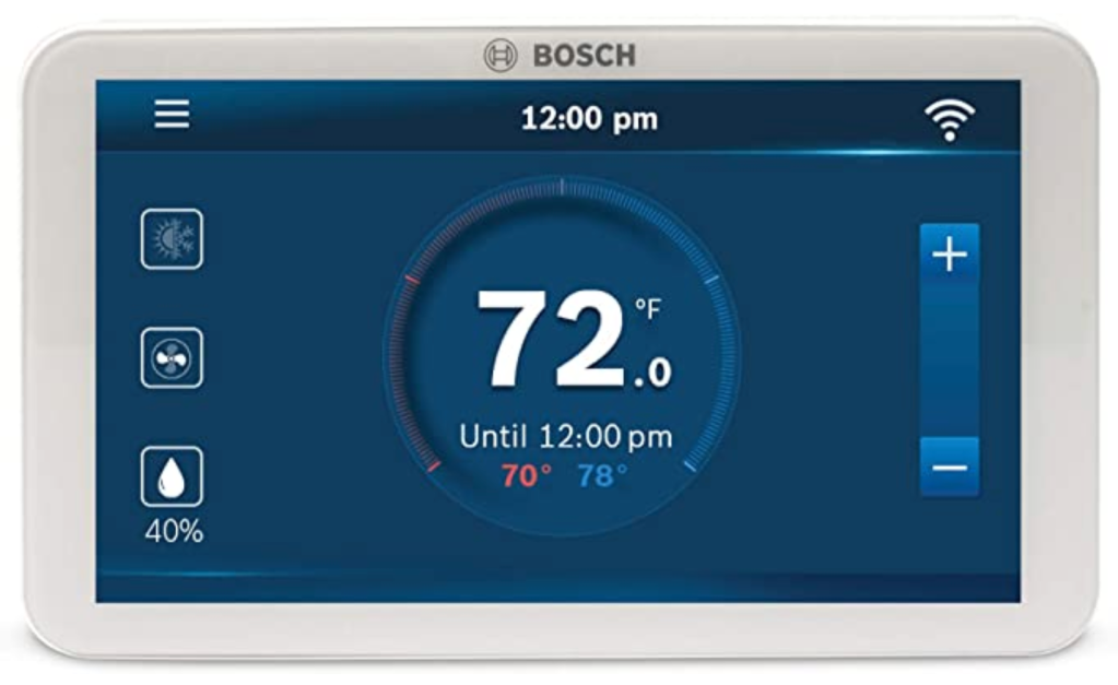 smart thermostats Bosch BCC100 Connected