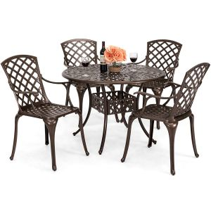 Best Choice Products Aluminum Dining Set