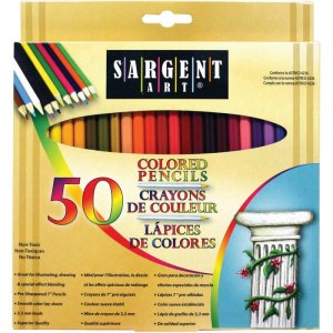 colored pencils sargent