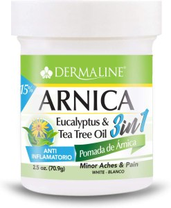 dermaline arnica salve ointment, how to get rid of a blackeye