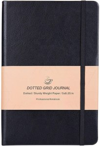 dotted grid notebook, grid notebook, best notebook